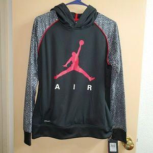 🆕 Boy's Jordan Pullover Hoodie Sweatshirt XL